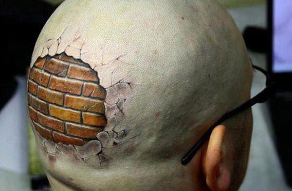 tatuagem 3D - Tatto 3D