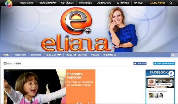 Eliana - Programa SBT