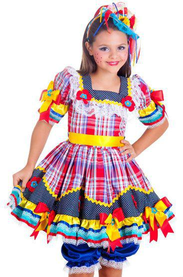 Vestidos Caipiras para Festa Junina