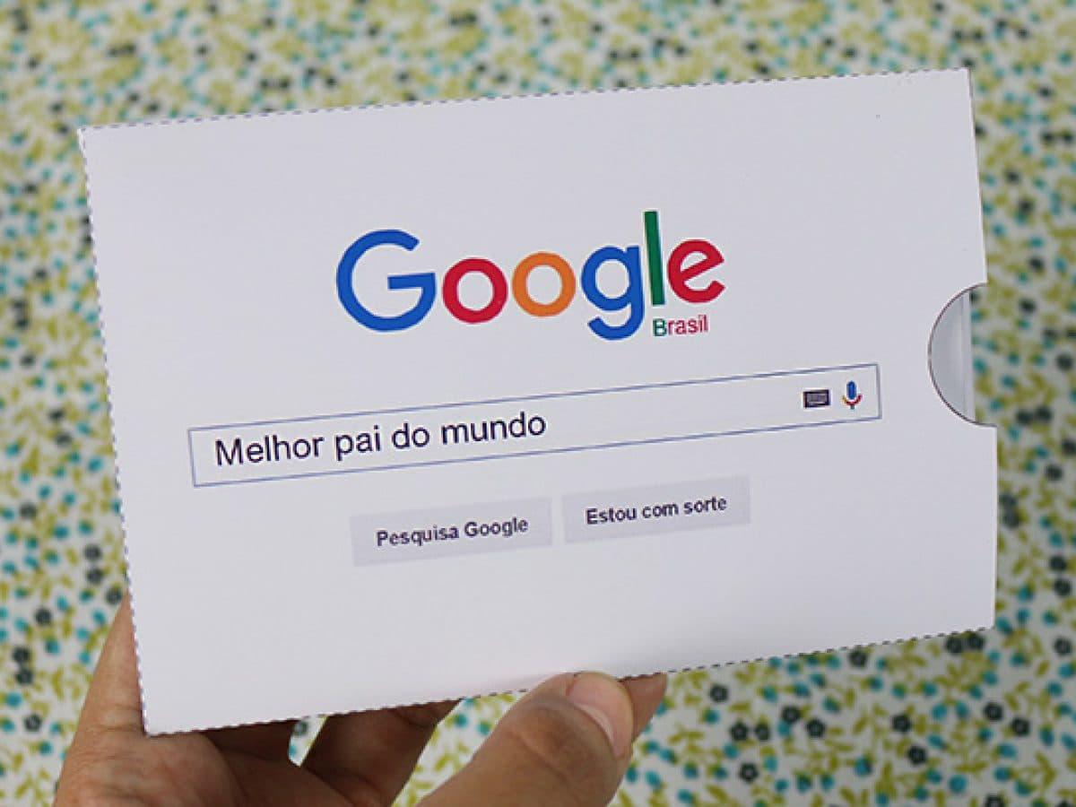 Cartão de Dia dos Pais google