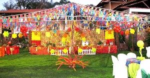 Decoração Festa Junina Na Escola