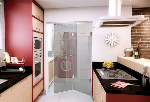 Porta Camarão de Vidro para Cozinha
