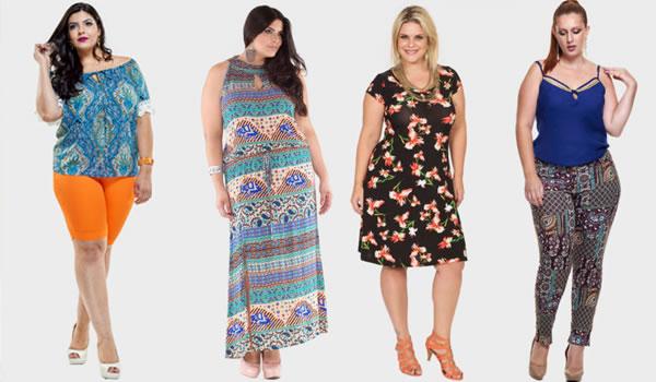 Tendência moda plus size verão 2018