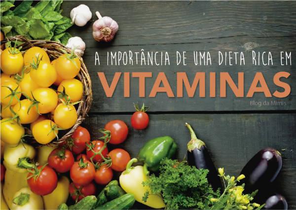 A importância das vitaminas na alimentação