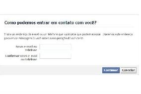 Como recuperar conta excluída do Facebook 1