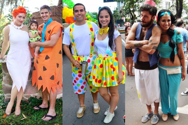 Fantasia de Carnaval para Casal divertidas