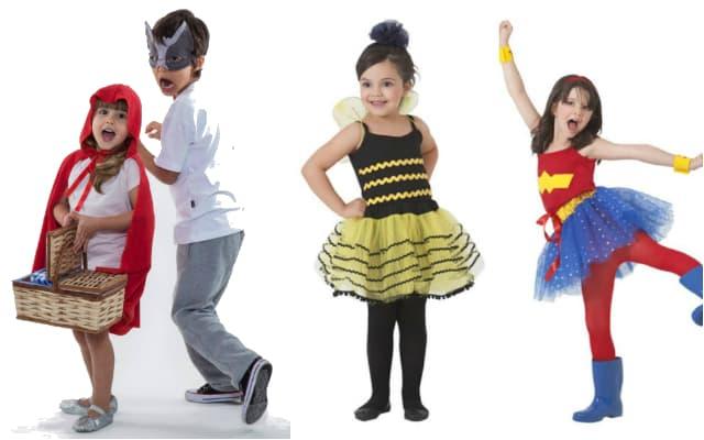 Fantasia de Carnaval para Crianças divertidas