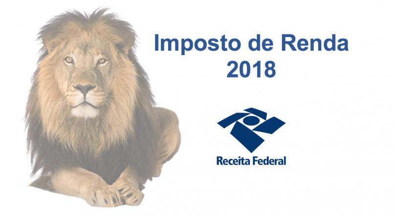 Programa da Declaração IRPF 2018 – Imposto Renda Pessoa Física