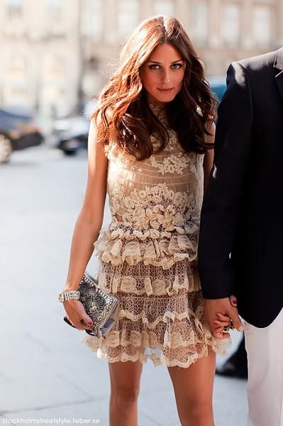 Modelos de vestido de renda 10
