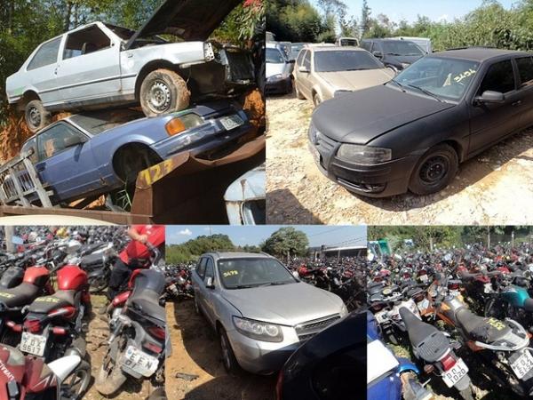 carros e motos para leilão