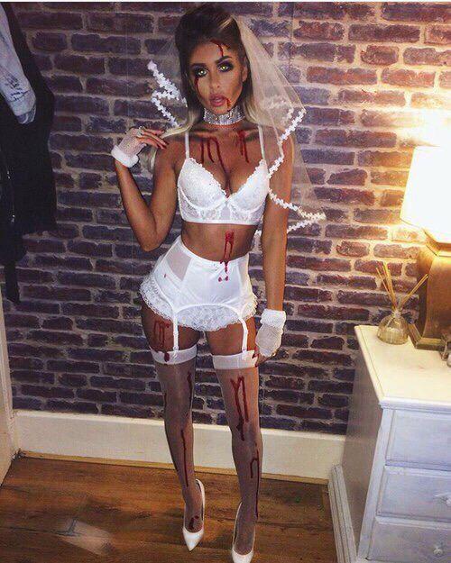 fantasia de noiva cadabra para halloween