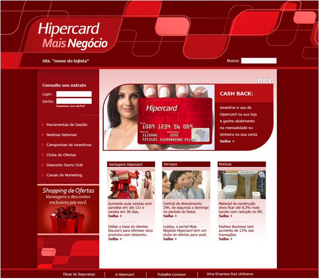 Promoção de Natal Hipercard
