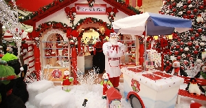 Shoppings decorados para o Natal: fotos