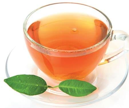 chá da folha de pitanga