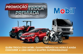Troca Premiada Mobil: Ganhe Honda CB 1000R