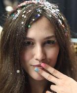 Confetti hair: Tendências, fotos