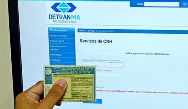 DETRAN Maranhão cnh