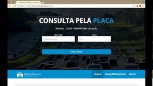DETRAN Maranhão consulta de placa