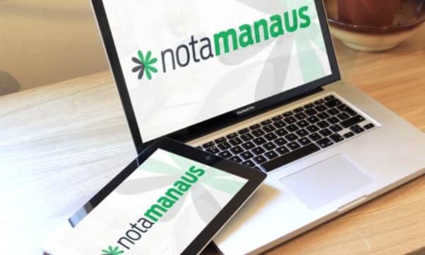 Nota fiscal Eletrônica Manaus no computador