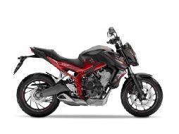 Nova Honda CB650 2016: nova pintura e grafismo