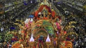 Carnaval desfile de rua