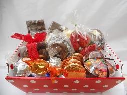 Como montar uma cesta de chocolates