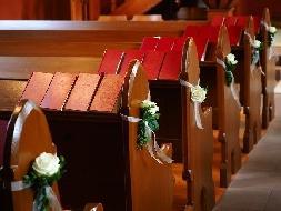 Decoração e tendências de casamento para Igrejas 2016