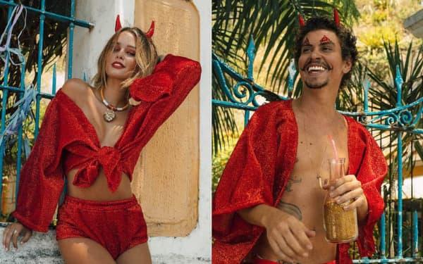Fantasias mais usadas no Carnaval de diabo