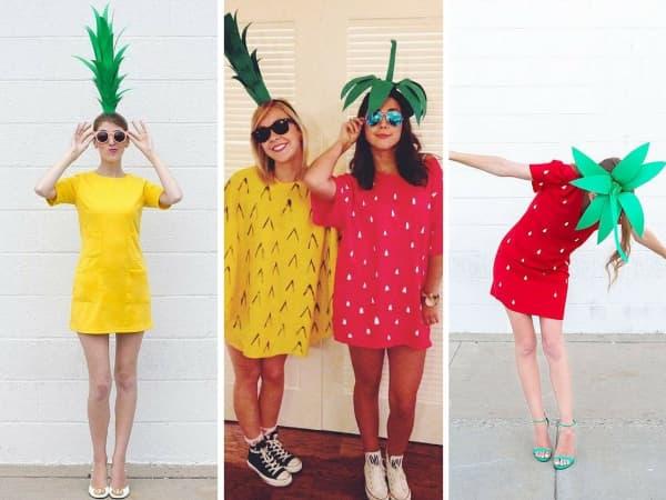 Fantasias mais usadas no Carnaval de frutas