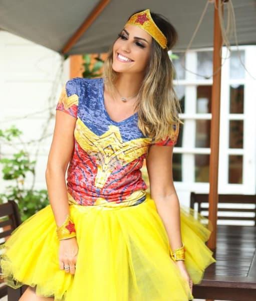 Fantasias mais usadas no Carnaval de mulher maravilha
