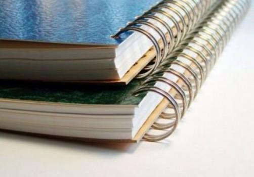 Os cadernos do Ensino Médio também estão disponíveis para os alunos (Foto: Divulgação)