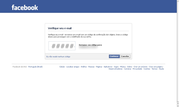 Como recuperar uma conta do Facebook