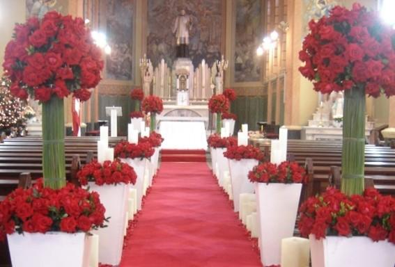 Decoraç u00e3o e tend u00eancias de casamento para Igrejas 2017 MundodasTribos u2013 Todas as tribos em um  -> Como Decorar Igreja Evangelica Para Festividade