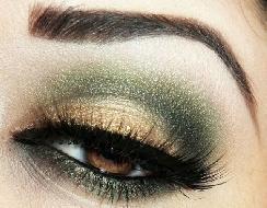 Tendências Moda e maquiagem verde militar 2017