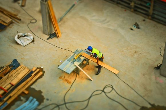 A construção civil é outro setor atendido (Foto Ilustrativa)