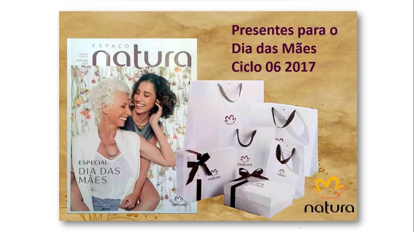 Dia das Mães Natura 2017