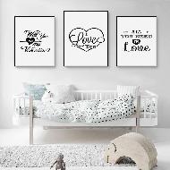 Como decorar com pôster no Dia dos Namorados 2017