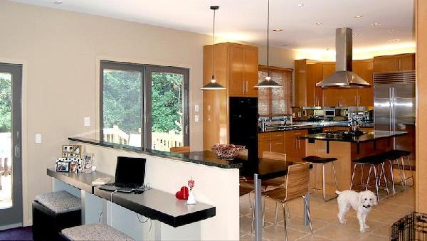 Sala e cozinha conjugados fotos 2017 mundodastribos How to combine living room and kitchen