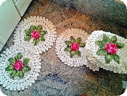 Como fazer tapetes de crochê 1