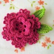 Flores de Crochê Passo a Passo