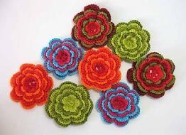 Flores de crochê como fazer passo a passo