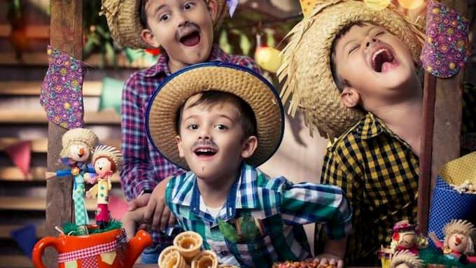 Maquiagem de Festa Junina para Crianças | Tutorial e Passo a Passo