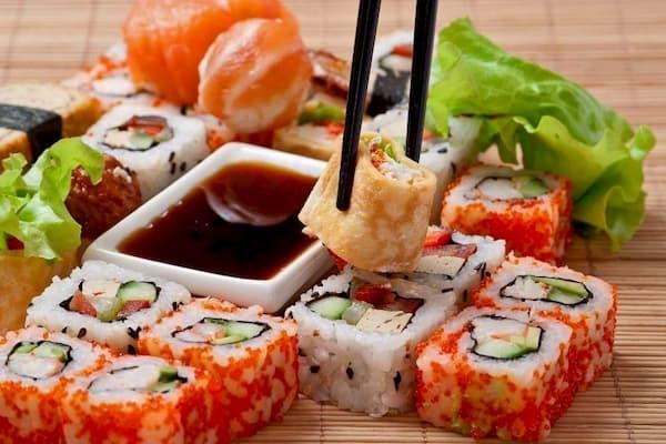 Principais Restaurantes para o Dia dos Namorados em Florianópolis sushi