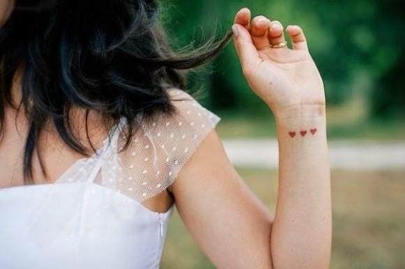 Tatuagens discretas para mulheres