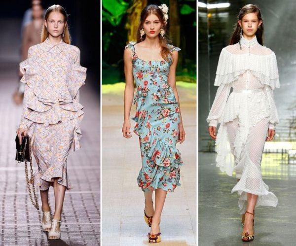 Vestidos da moda: Verão 2018