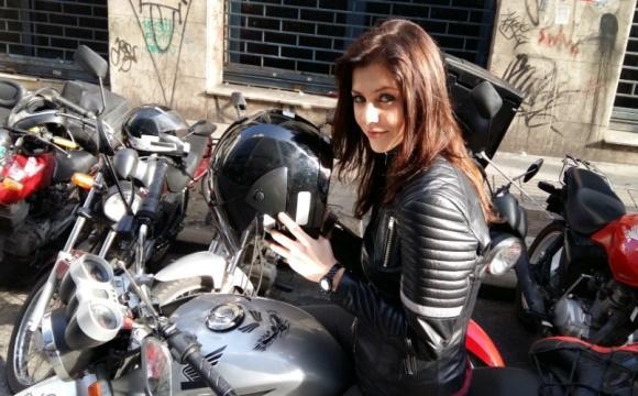 A Garota da Moto nova série do SBT