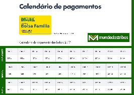 Calendário Bolsa Família 2017: DATA DE PAGAMENTO