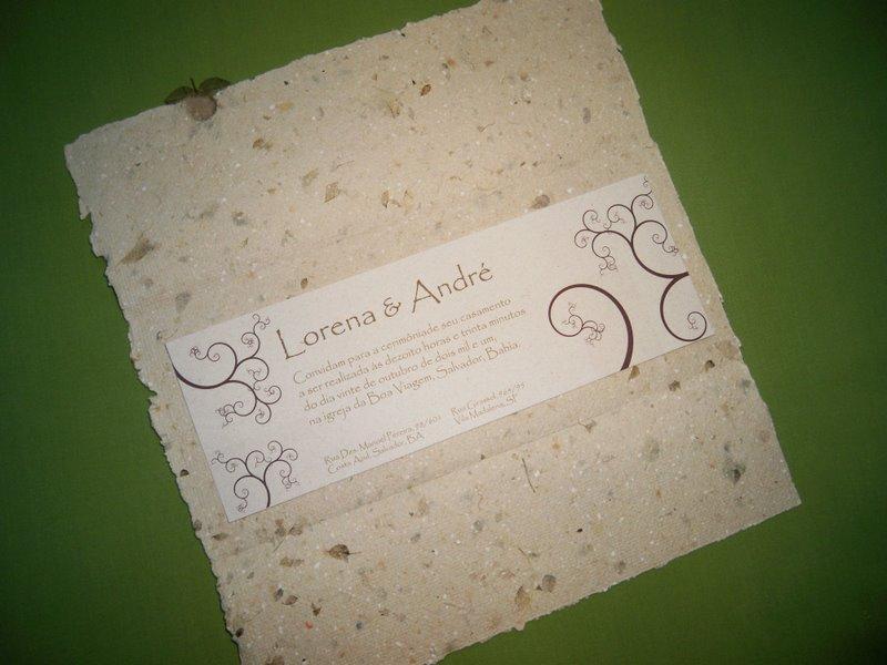Convites de casamento artesanais: 60 fotos para escolher