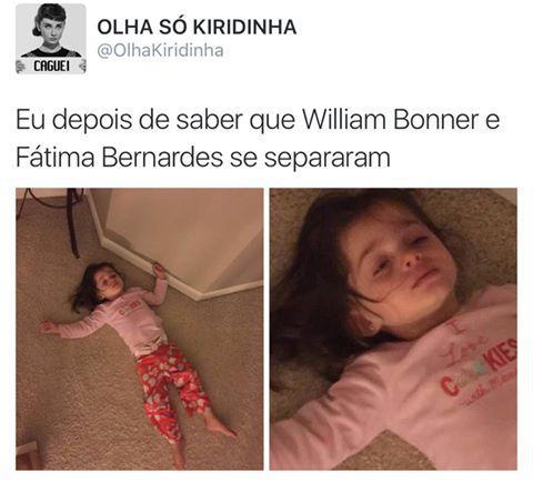 Melhores memes da sepração de Fátima Bernardes e Willian Bonner