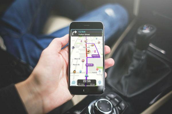 Mapas de Localização de Ruas Via Satélite